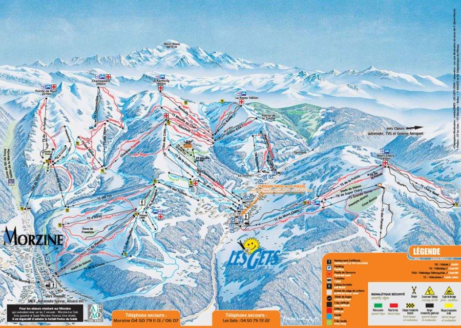 les gets ski: